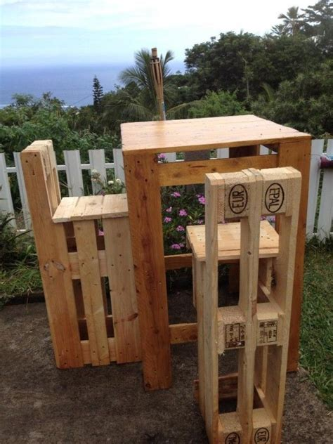 Table Et Chaises En Palettes Recyclées Wood Pixodium 35 Pallet Furniture Ideas Sofas Chairs Tables Etc