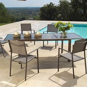 Leclerc Table De Jardin : table de jardin pliante leclerc ~ Teatrodelosmanantiales.com Idées de Décoration