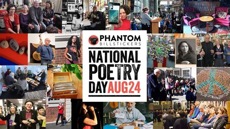 options  national poetry day   friday