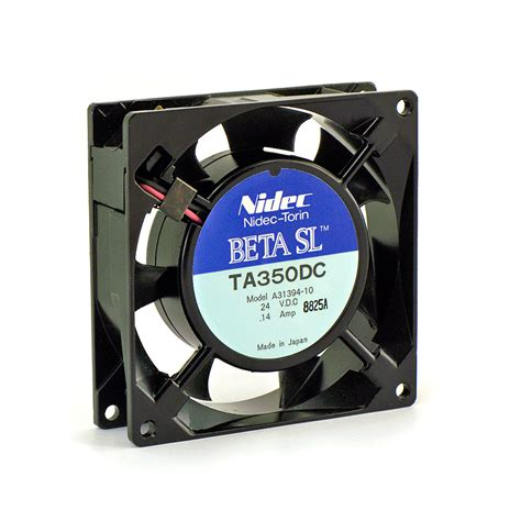 nidec ta350dc fan nidec torin beta sl ta350dc fan 24 vdc model