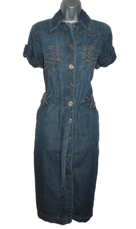 Dress Dona Denim next denim dress ebay