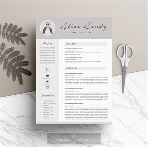 newkoko2020 resume template 3page charming by the