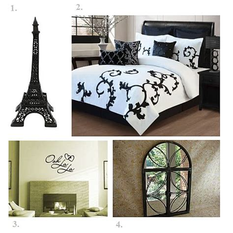 paris themed bedroom ideas