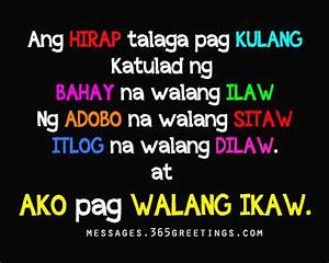 Tagalog Love Quotes | Recipes to Cook | Tagalog love ...