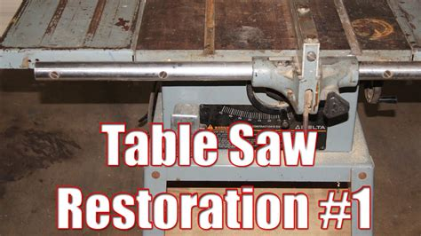 table  restoration part  youtube