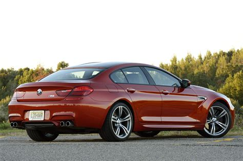 Review Bmw M6 Gran Coupe by 2014 Bmw M6 Gran Coupe Review Photo Gallery Autoblog