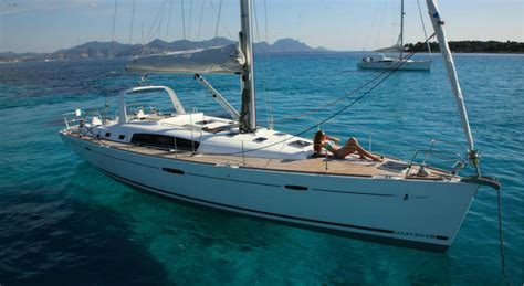 islands in a kitchen beneteau oceanis 50 istion yachting greece