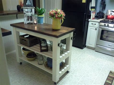 do it yourself kitchen islands modified michaela s kitchen island do it yourself home projects from ana white
