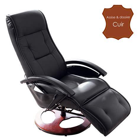 ce af siege fauteuil massant berguen cuir noir anniversaire 40 ans
