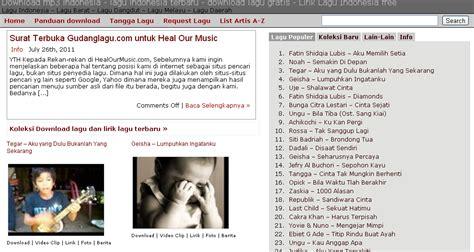 Gudang Lagu Indonesia Barat