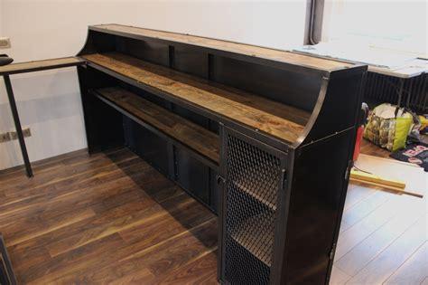 bureau mobilier de accueil style deco industriel fr
