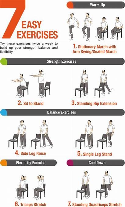Exercises Seniors Balance Exercise Easy Pdf Leg