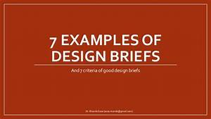 examples of design briefs With house design brief template for architect