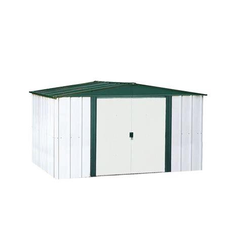 Home Depot Arrow Shed - arrow hamlet steel storage building 8 ft x 6 ft the