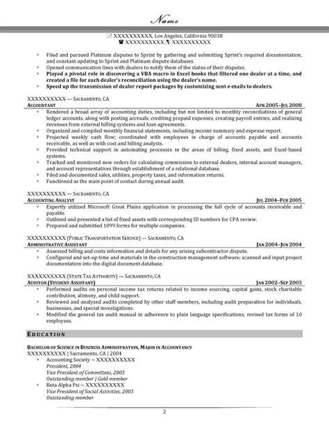 senior billing analyst resume