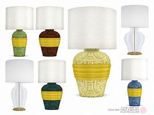 olga lamp set by dot at tsr sims 4 updates With lamp light dot net