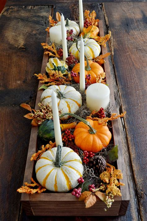23+ Insanely Beautiful Thanksgiving Centerpieces and Table