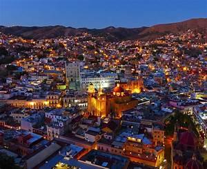 Guanajuato Mexico By Night Photograph by Douglas J Fisher