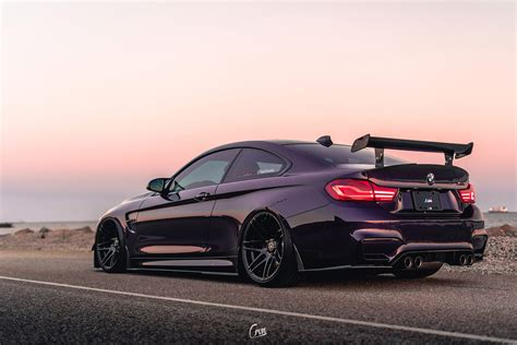 daytona violet bmw m4 gets some serious aftermarket upgrades