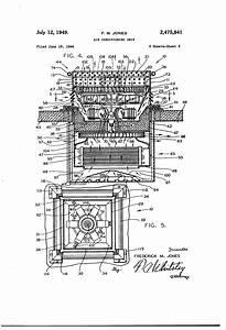 Patent Us2475841 - Air Conditioning Unit