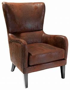 Clarkson Wingback Armchair - Transitional - Armchairs And