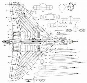 Image Result For Avro Vulcan Diagram