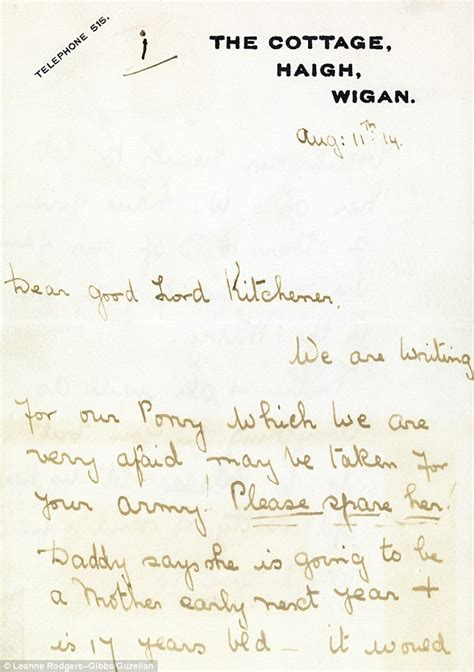Childrens Museum Kitchener by The Real War Horse 1914 Letter Written By Children To
