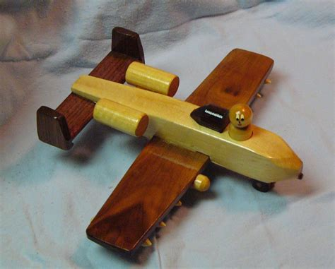 gifts     christmas wooden toy airplane