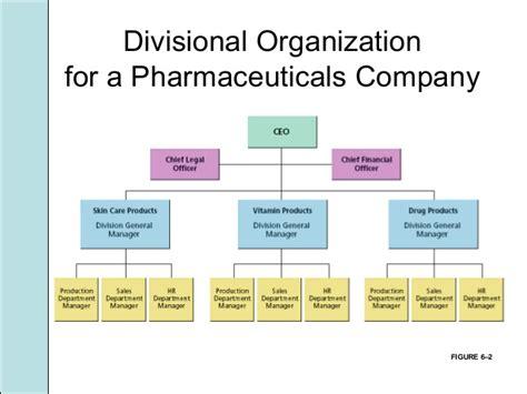 Company Organizational Chart Examples