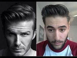 David Beckham H&M Inspired Hairstyle - How to style ...