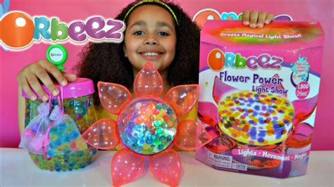 orbeez flower power light show orbeez playset kids