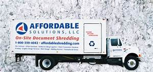 Affordable solutions llc in orange ct 800 359 4042 for Document shredding drop off sites