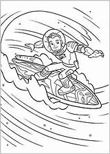 Miles Coloring Pages Tomorrowland Print sketch template
