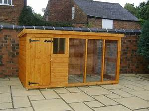 How to build a covered dog run ebay for Covered dog kennels runs