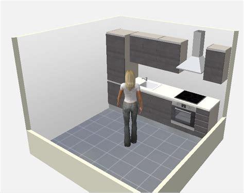 logiciel de cuisine en 3d gratuit 8 plans de cuisines pour une pièce carrée cuisine plus