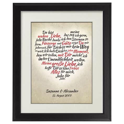 personalisierte geschenke beste freundin herz aus worten personalisiertes bild mit individueller widmung