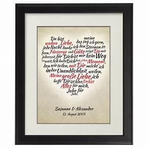 Liebe Berechnen : herz aus worten personalisiertes bild mit individueller widmung ~ Themetempest.com Abrechnung