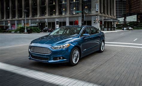 ford fusion hybrid road test review car  driver