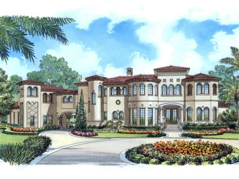 luxury mansion floor plans mediterranean house plans with porte cochere home deco plans