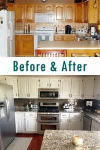 kitchen cabinets makeover diy ideas kitchen renovation With kitchen colors with white cabinets with wall art on a budget