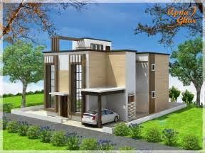 home designs duplex house design apnaghar house design