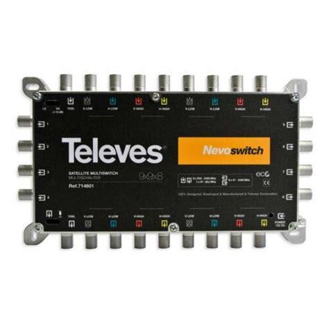 multi switch 9x9x8 c skyview televes 9x9x8 nevoswitch cascade multiswitch 714601