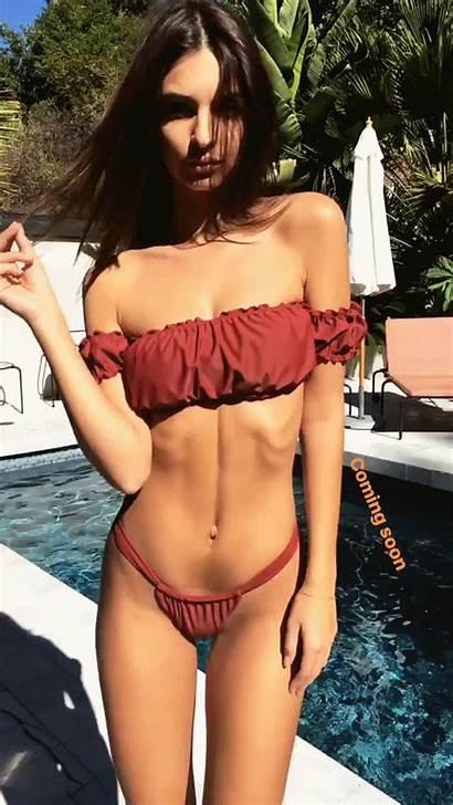 Ratajkowski Emily Bikini Personal Miss Booty Godess