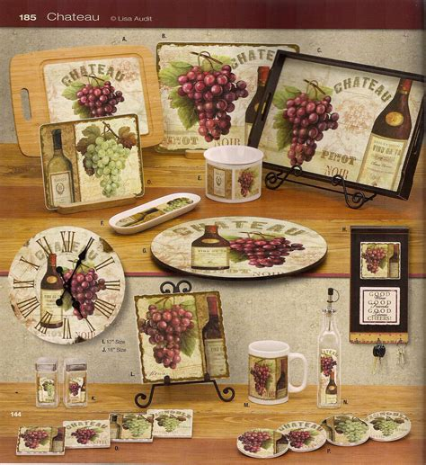 Grape Themed Kitchen Curtains by Kitchen Wine Decor Kitchen Decor Design Ideas