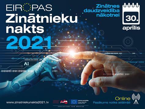 """30. aprīlī EDI piedalīsies """"Zinātnieku nakts 2021 ..."""