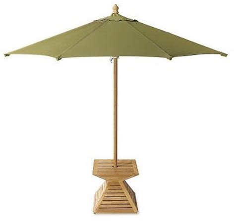 grade a teak wood umbrella stand cover base