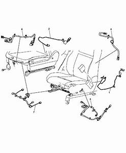 Jeep Cherokee Seat Diagram