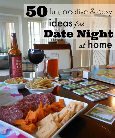 Always a blast & if u go with a specific list of items to find for your home, u really can save a fortune & spend an entire saturday today together with your man 50 Fun Date Night Ideas for at Home - My DIY Tips