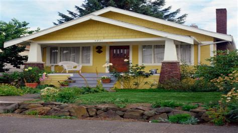 small house plans craftsman bungalow yellow craftsman bungalow bungalow type houses