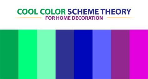 Cool Color Scheme Theory for Home Decoration